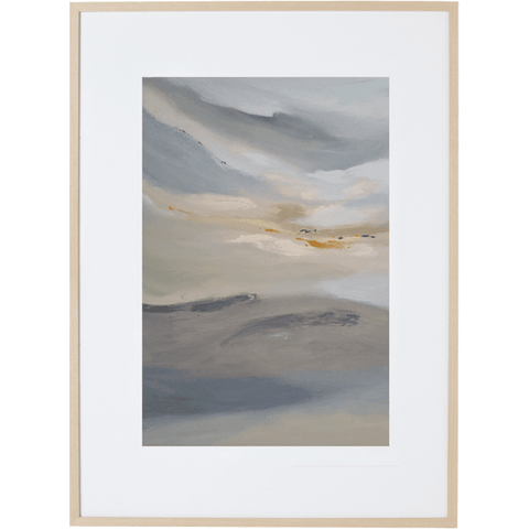 Morning Mist 2V - Framed Print