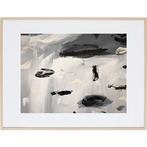Rain Amongst The Clouds 5H - Framed Print