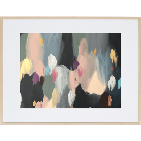 Soiree 1H - Framed Print