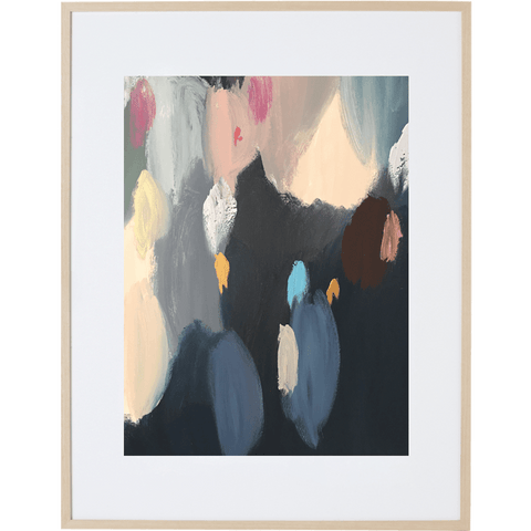Soiree 3V - Framed Print