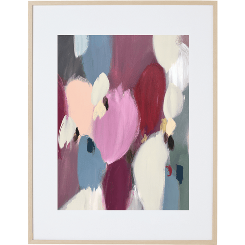 Spring Bloom 3V - Framed Print