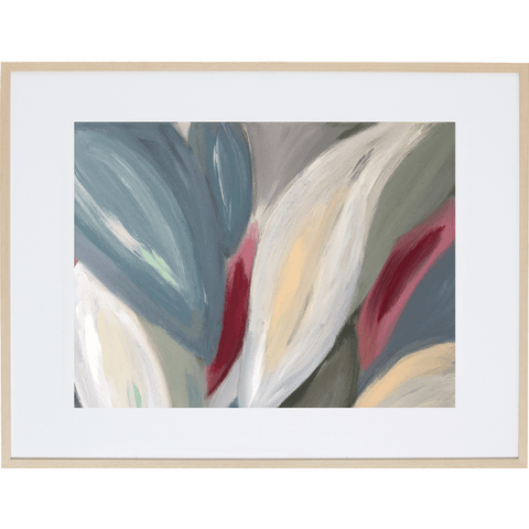 Spring Leaves 1H - Framed Print