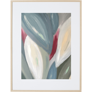 Spring Leaves 1V - Framed Print