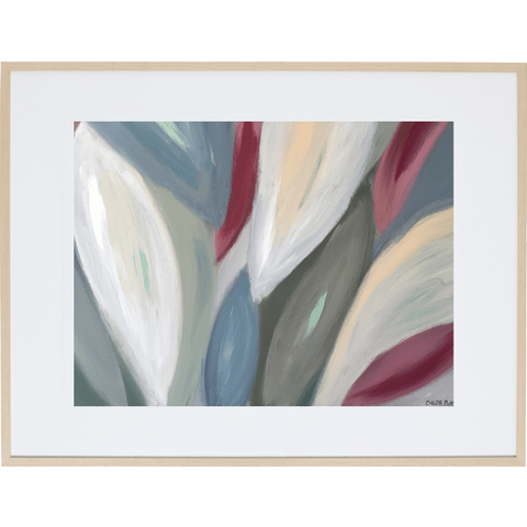 Spring Leaves 2H - Framed Print