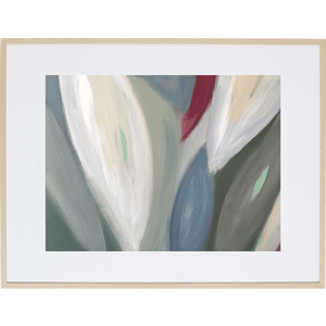 Spring Leaves 6H - Framed Print
