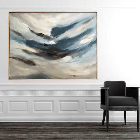 SALE! Was $3200! Storm Clouds Brewing - 1.4m x 1.15m