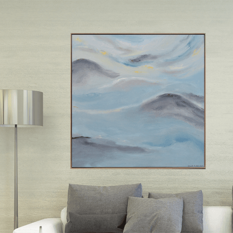 Sweeping Clouds (1m x 1m)