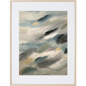 Travelling Through The Clouds 1V - Framed Print