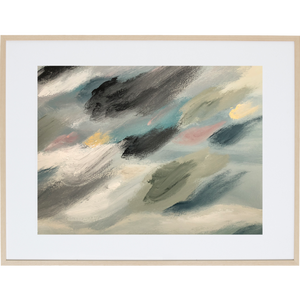 Travelling Through The Clouds 2H - Framed Print