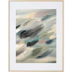 Travelling Through The Clouds 2V - Framed Print