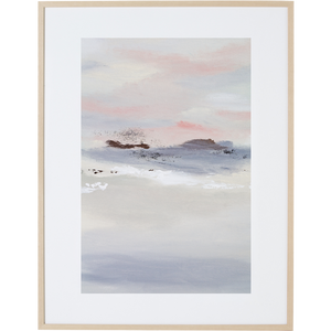 Whispering Sunset 2V - Framed Print
