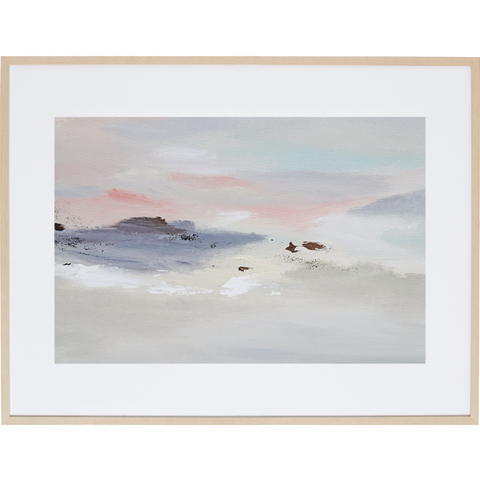Whispering Sunset 2H - Framed Print