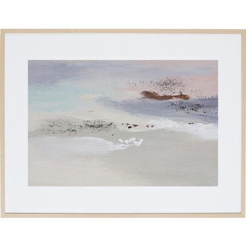 Whispering Sunset 3H - Framed Print