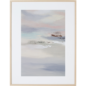 Whispering Sunset 3V - Framed Print