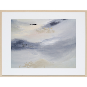 White Whisper 2H - Framed Print