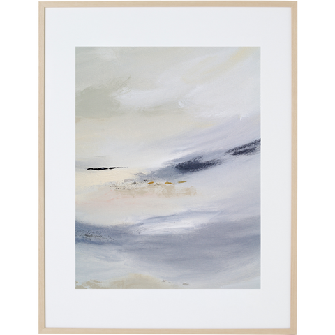 White Whisper 2V - Framed Print