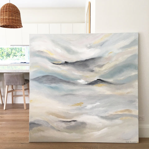 Clouds Of Harmony - 1.5m x 1.5m
