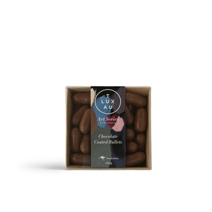 Chocolate Bullets Square Box 145g - Art Series