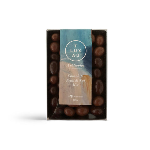 Chocolate Fruit & Nut Box 235g - Art Series