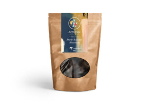 VEGAN Dark Chocolate Coated Hazelnuts 80g - Art Series