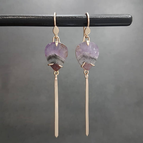 Rose Gold Sorcery Earrings