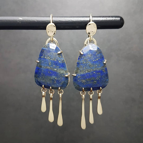 Lapis Royalty Earrings