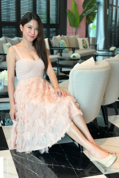 Peony Sheer Dress