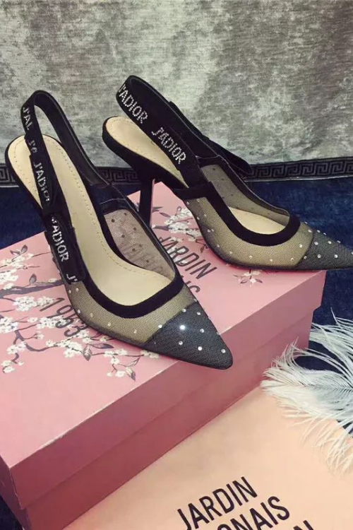 DIOR Inspired High Heels