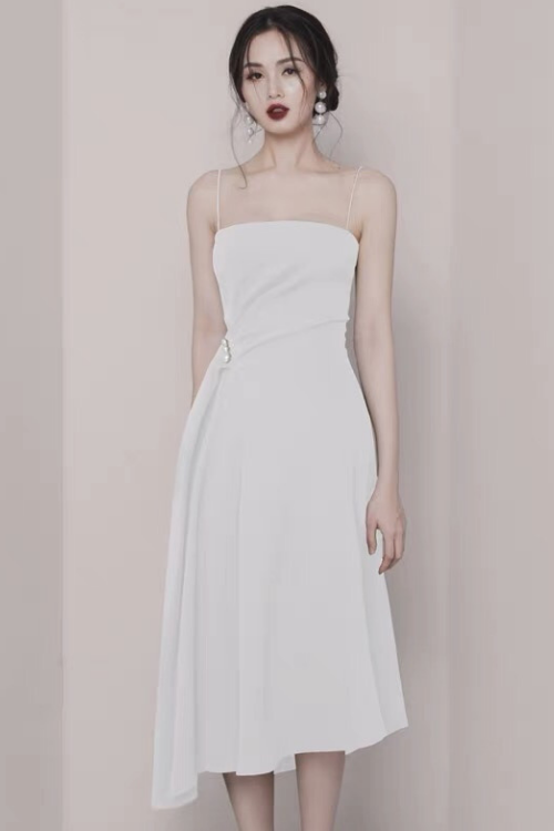 COUTURE Blanc Dress