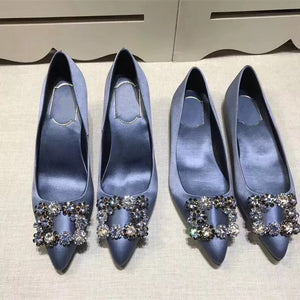 COUTURE Satin High Heels