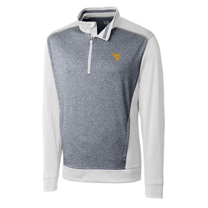 WV WHITE REPLAY HALF-ZIP