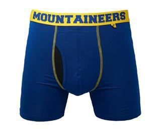 2-UNDR WVU BOXER BRIEF