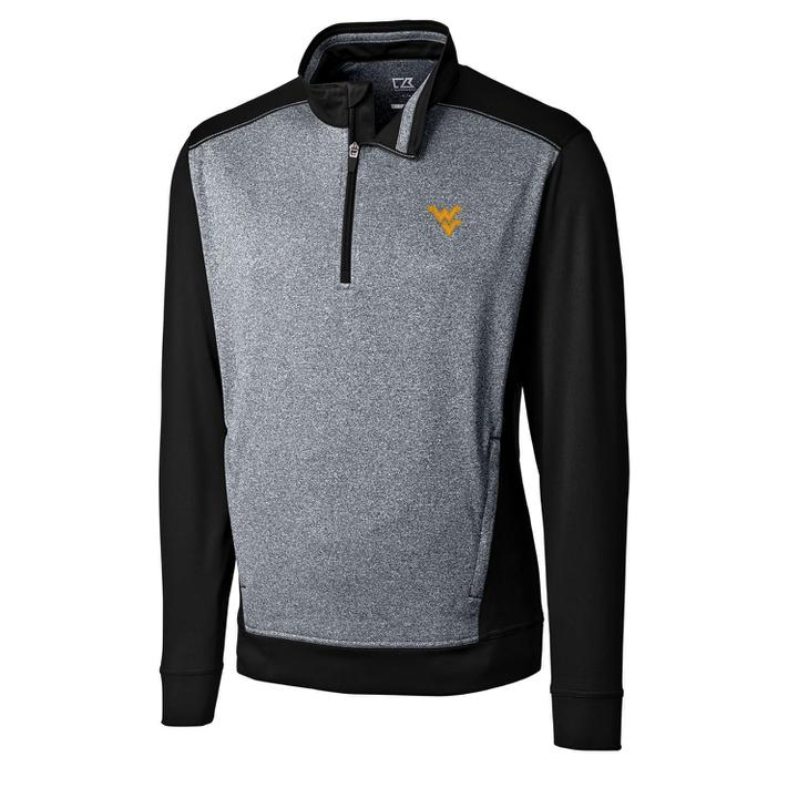 BLACK WV REPLAY HALF-ZIP