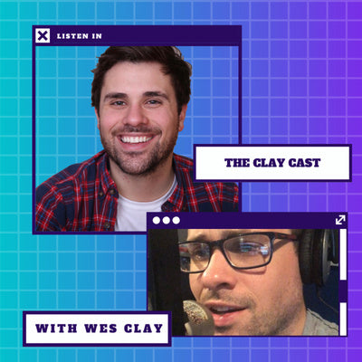clay cast podcast thumbnail