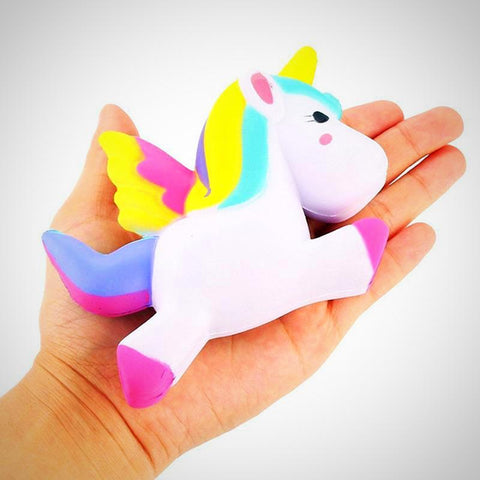 Flying Unicorn Pony Horse Squishy - Juniorshopstyle