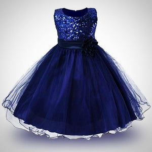Princess Girls O-neck Dresses - Juniorshopstyle