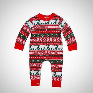 Christmas Newborn Long Sleeve Cotton Romper - Juniorshopstyle