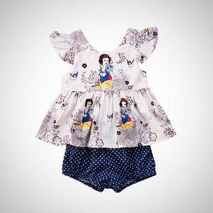 Baby Girls Vest 2pcs suit - Juniorshopstyle