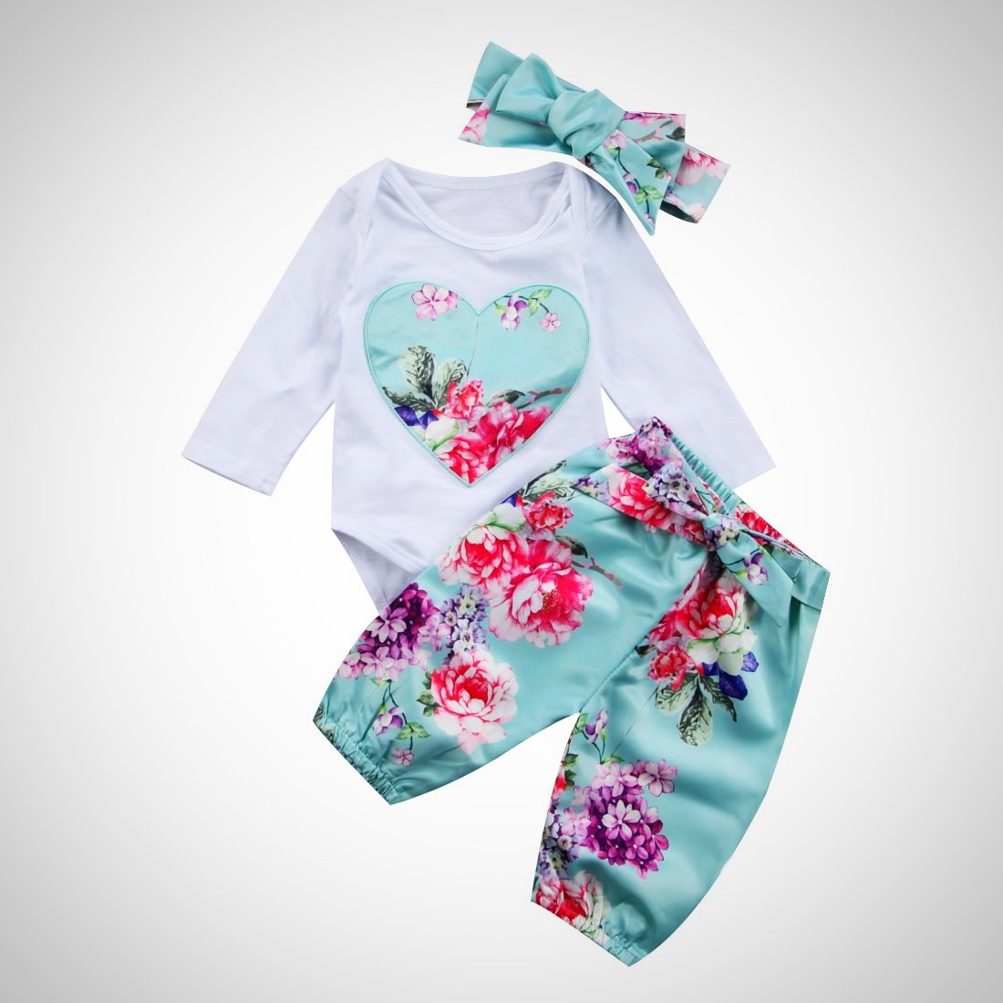 Newborn baby girl Romper suit - Juniorshopstyle