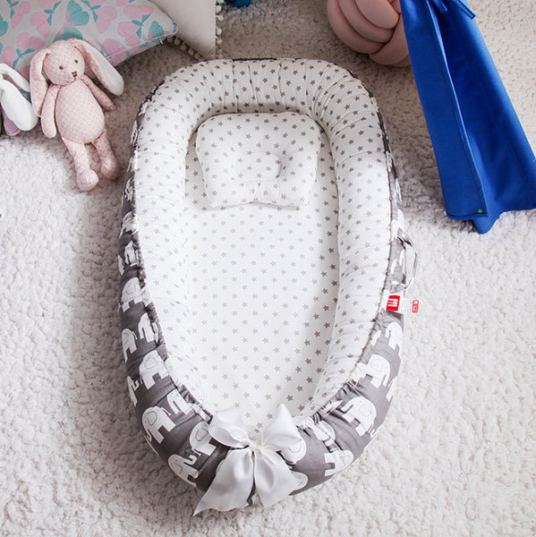 Newborn Baby Bed  Baby Nest Bed Portable - Juniorshopstyle
