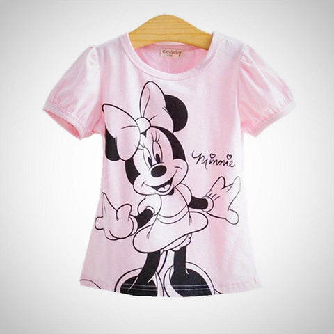 Baby Girls cartoon Tshirt - Juniorshopstyle