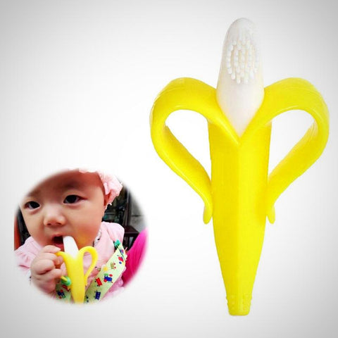 High-Quality  baby Silicone Toothbrush - Juniorshopstyle