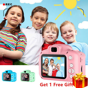 Mini Digital Camera Toys for Kids 2 Inch HD Screen - Juniorshopstyle