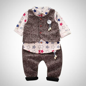 Newborn baby boy Star suit - Juniorshopstyle