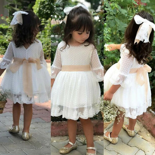 Dress Baby Toddler Kids Knee Length Fashion Party - Juniorshopstyle