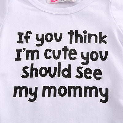 funny Baby Bodysuit - Juniorshopstyle