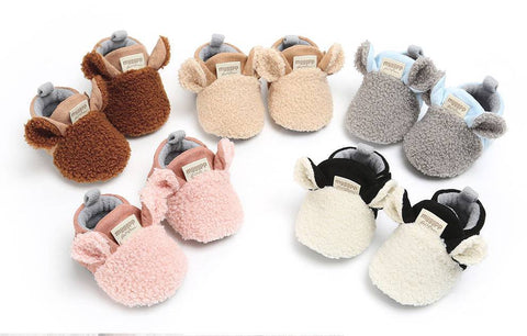 Shoes Newborn Baby Autumn Winter cotton Warm - Juniorshopstyle