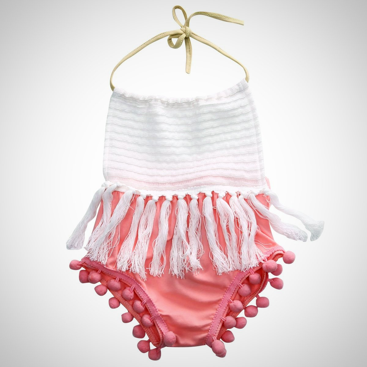 Baby Girls fashion Tassels Strap - Juniorshopstyle