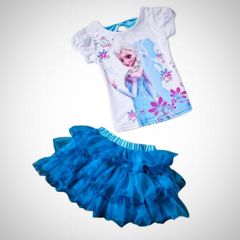 Baby Girls Elsa Suits Set - Juniorshopstyle