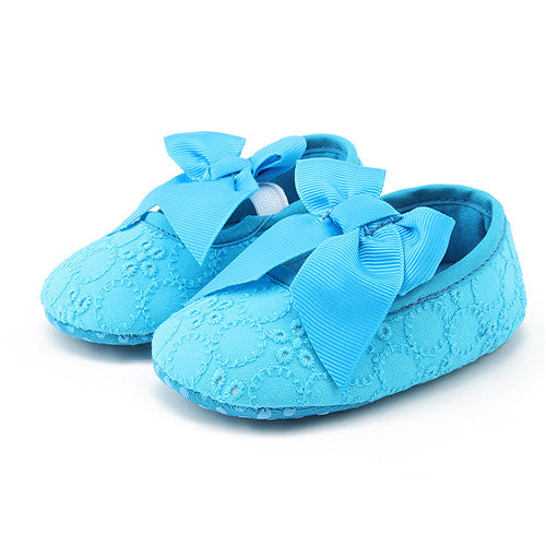 Baby girl Shoes Butterfly-knot - Juniorshopstyle